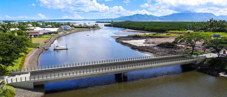 Denarau Bridge Project Denarau, Fiji.